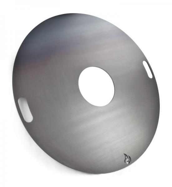 80cm - Feuerplatte - Grillplatte - Grillring - Plancha G-1055