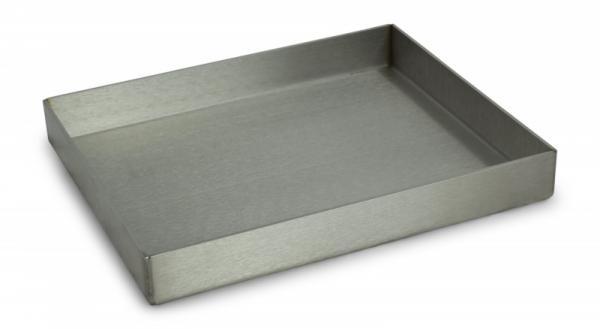Grillrost.com Edelstahl Plancha / Grillplatte - geschlossen - 30 x 25cm G-1005