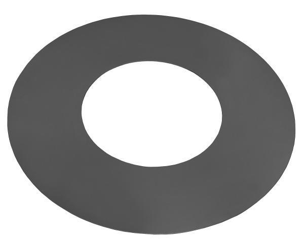 Korono Stahlgrillplatte für Feuerschalen (Grillplatte: Ø 82cm / 40cm mit Loch) KOR-SGP-684