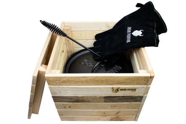 Valhal Outdoor Aufbewahrungsbox aus Holz VHBOX